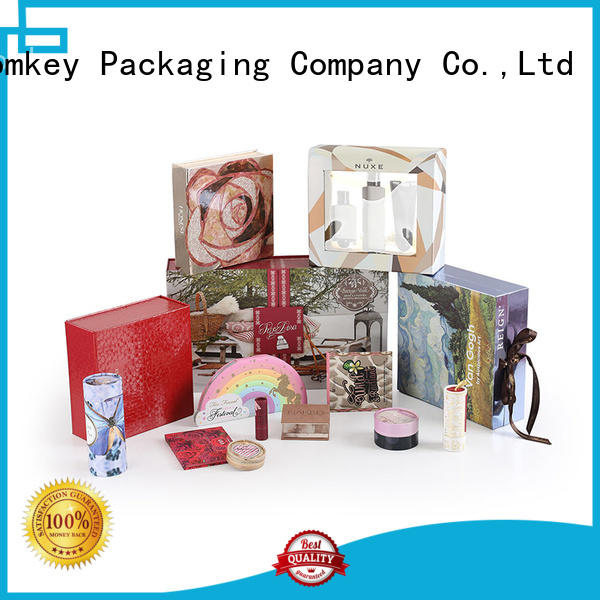 Homkey Packaging collapsible cosmetic box owner for cosmetics