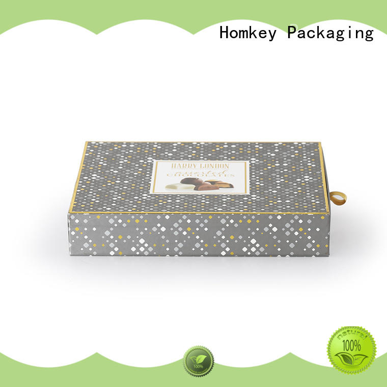 hot-sale chocolate gift boxes candy owner for gift packing