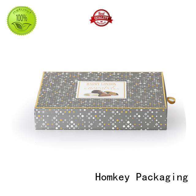 Homkey Packaging inexpensive cheap chocolate boxes order now for gift packing