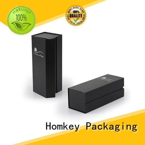 Homkey Packaging unique wine bottle gift boxes factory for wire packing