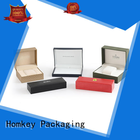 Homkey Packaging paper jewelry box packaging widely-use for gift items