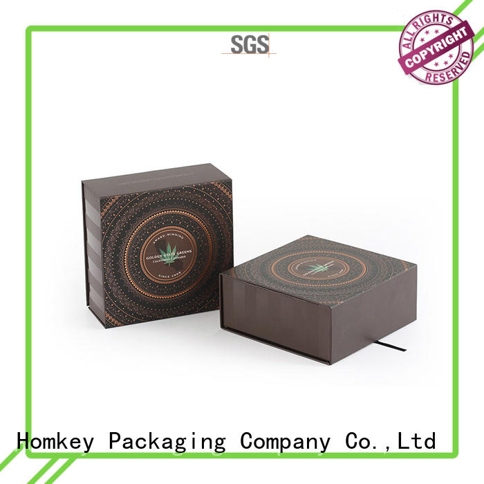 Homkey Packaging high-end CBD packaging experts for factory