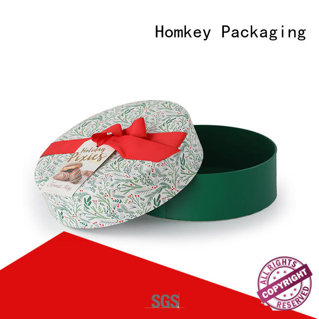 Homkey Packaging cake candy boxes wholesale supplier for product packing