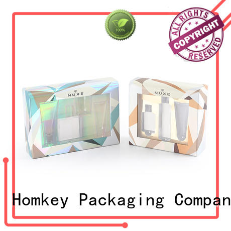 Homkey Packaging luxury cosmetic packaging boxes factory for Perfume