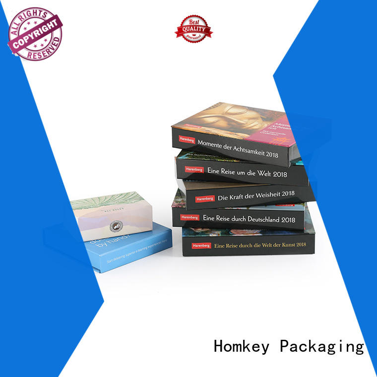 Homkey Packaging gift printed gift boxes wholesale for gift wrapping
