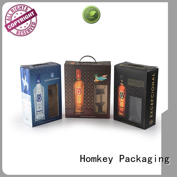 Homkey Packaging awesome wine bottle packaging experts for wire packing