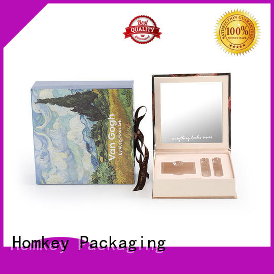 Homkey Packaging cosmetic cosmetic packaging boxes manufacturer for cosmetics