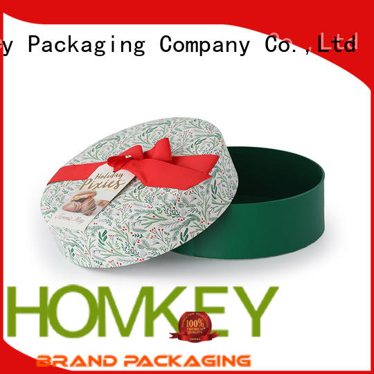 Homkey Packaging new-arrival custom chocolate boxes free design for gift packing