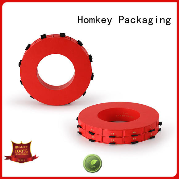 Homkey Packaging pallet custom chocolate boxes experts for factory