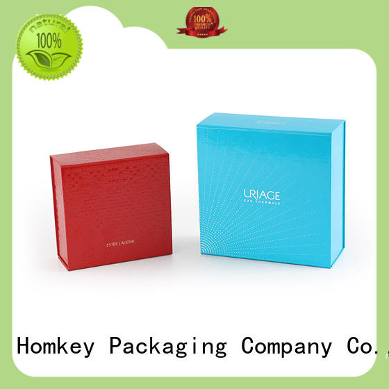 Homkey Packaging luxury cosmetic boxes factory for skincare items
