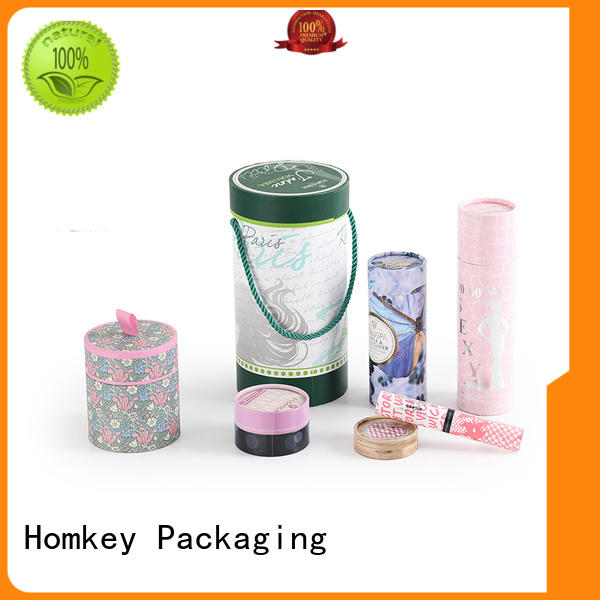 Homkey Packaging collapsible makeup packaging boxes in different shape for Perfume