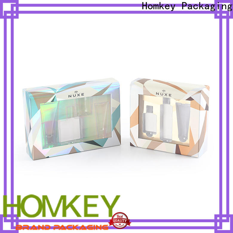 Homkey Packaging best cosmetic boxes factory for beauty items