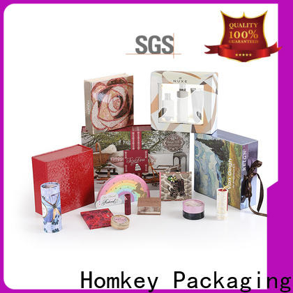 Homkey Packaging gift cosmetic packaging supplies owner for skincare items