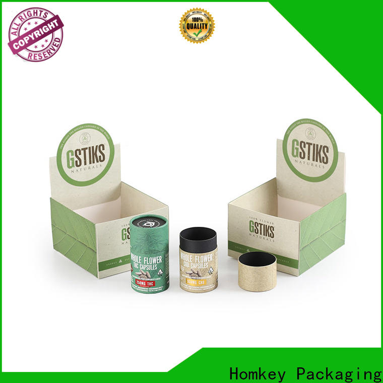 Homkey Packaging marijuana personalized packaging box from manufacturer for hospital
