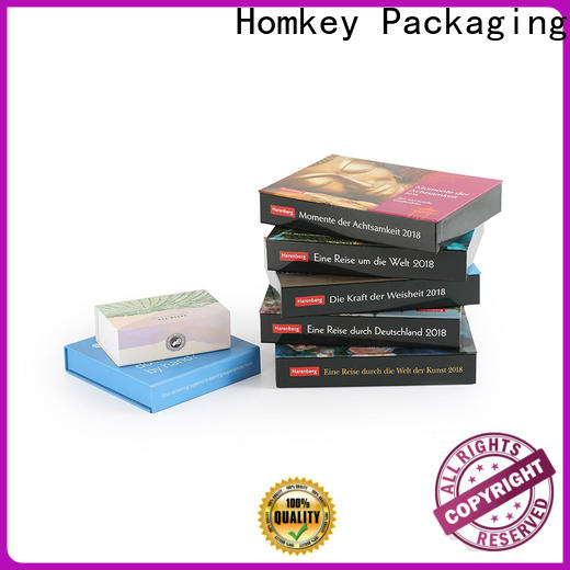 Homkey Packaging plastic jewelry gift boxes factory for gift packing