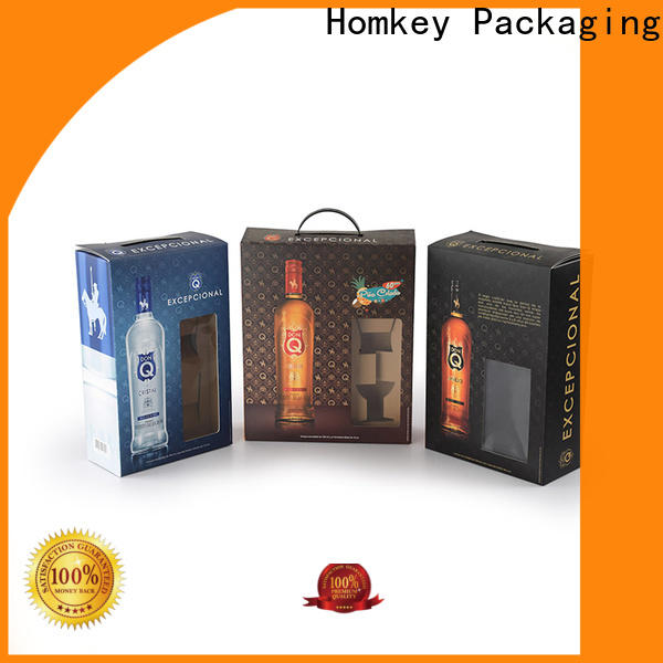 Homkey Packaging box wine packing boxes experts for wire packing