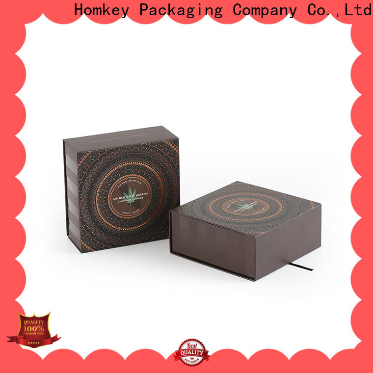 Homkey Packaging resistant personalized packaging box supplier for medical