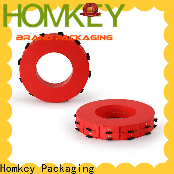 Homkey Packaging nice chocolate packing boxes supplier for factory