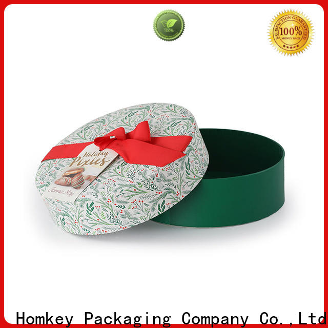 Homkey Packaging chocolate custom printed boxes experts for gift packing