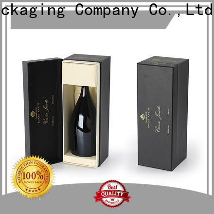 newly wine gift box package certifications for wire packing