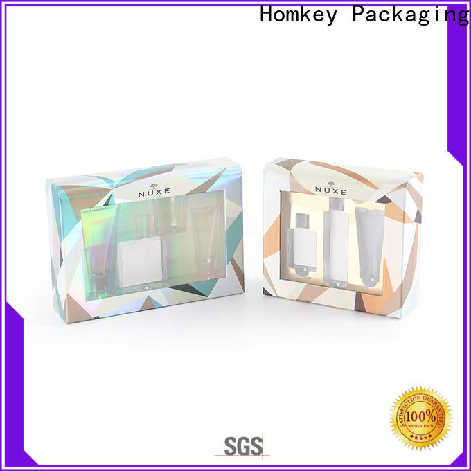 printed cosmetic box packaging suppliers rigid factory for maquillage