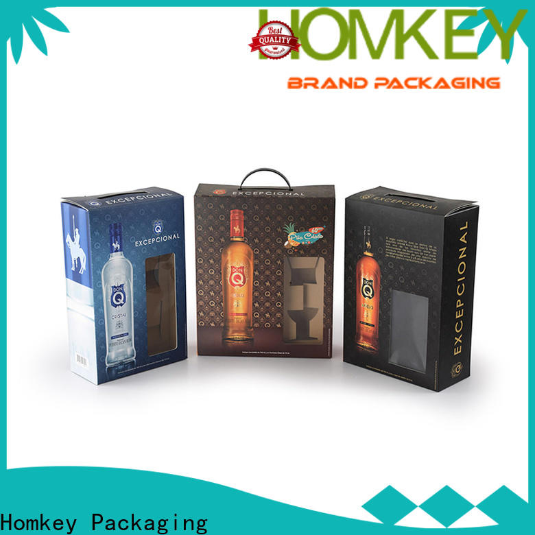 Homkey Packaging superior wine case box owner for gift packing