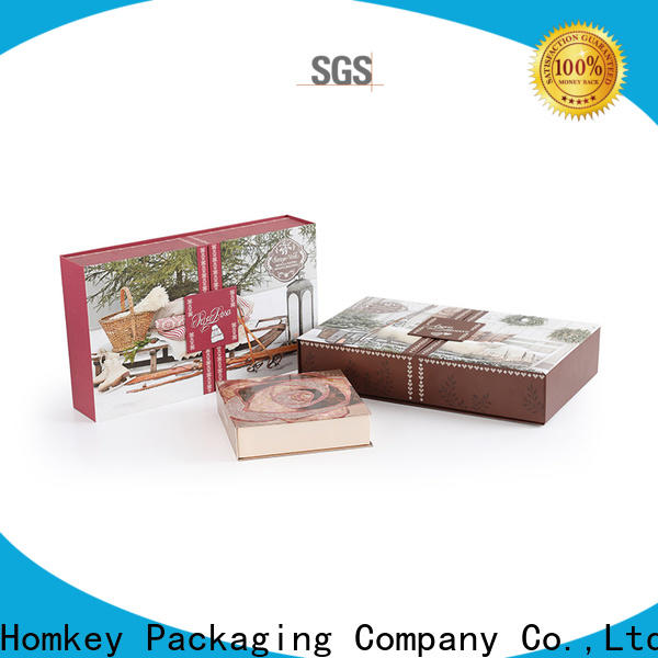 Homkey Packaging awesome cosmetic box packaging suppliers wholesale for cosmetics