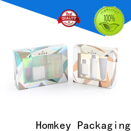 Homkey Packaging board makeup packaging boxes owner for Perfume
