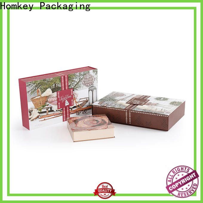 Homkey Packaging best custom makeup boxes wholesale for Perfume