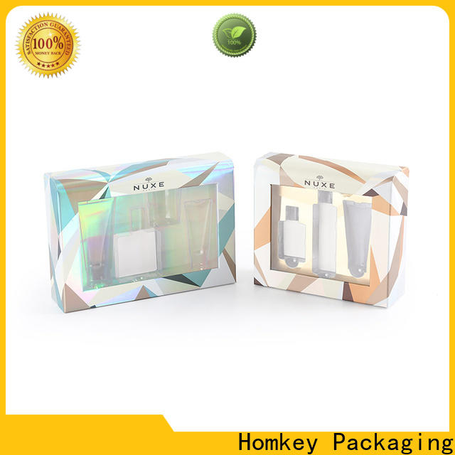 Homkey Packaging quality custom packaging boxes in different shape for Perfume