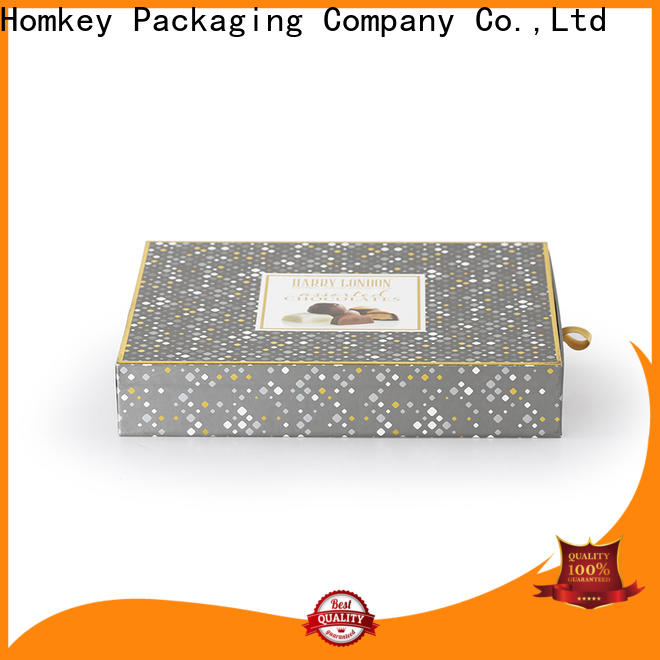 Homkey Packaging heart cheap chocolate boxes free design for gift packing