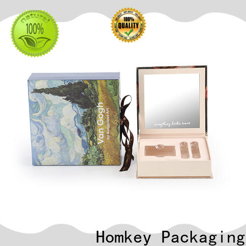 luxury custom packaging boxes board supplier for beauty items