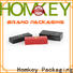 Homkey Packaging boxes jewelry box packaging with Quiet Stable Motor for gift packing