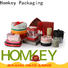 Homkey Packaging newly cheap chocolate boxes free design for gift packing