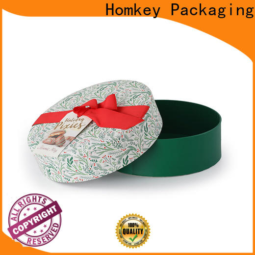 Homkey Packaging nice chocolate gift boxes order now for gift packing