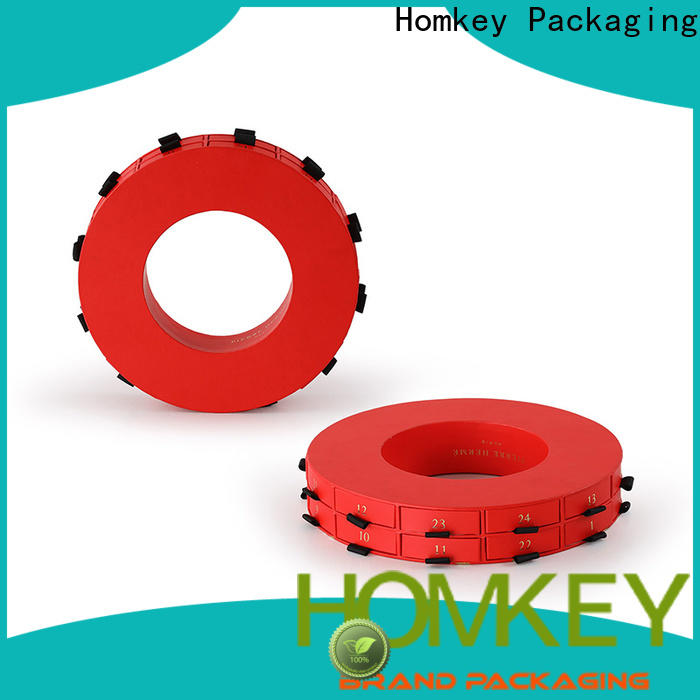 Homkey Packaging piece chocolate packing boxes supplier for gift packing