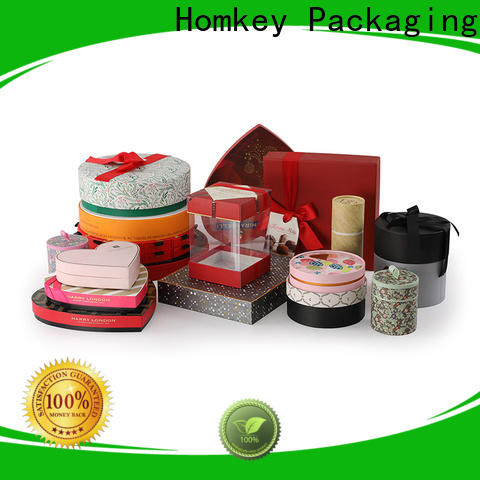 Homkey Packaging inexpensive custom chocolate boxes widely-use for gift wrapping