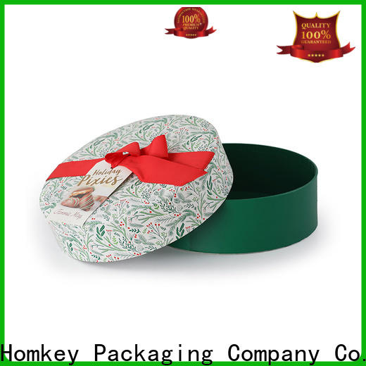 Homkey Packaging new-arrival chocolate packing boxes order now for gift packing