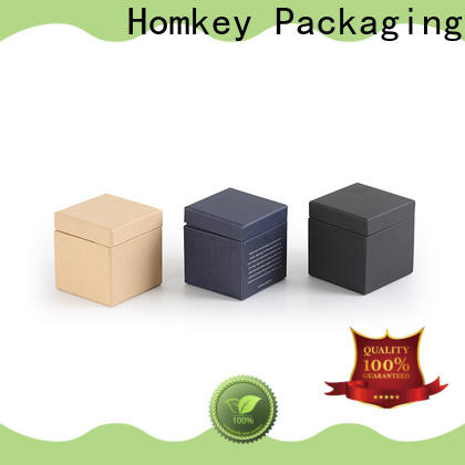 Homkey Packaging paperboarad makeup packaging boxes in different shape for Perfume