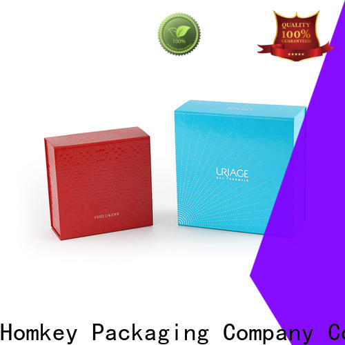 Homkey Packaging fragrance cosmetic packaging boxes supplier for skincare items