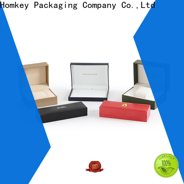 Homkey Packaging inexpensive jewelry gift boxes with Quiet Stable Motor for gift wrapping