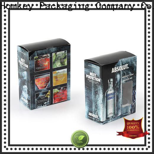 Homkey Packaging awesome wine packing boxes widely-use for wire packing