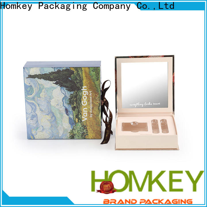 Homkey Packaging candle cosmetic box supplier for maquillage