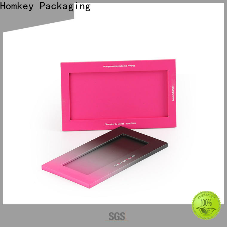Homkey Packaging paperboard chocolate packing boxes long-term-use for gift packing