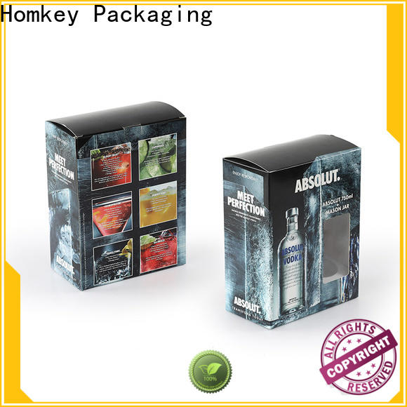best wine bottle gift boxes vodka widely-use for wire packing