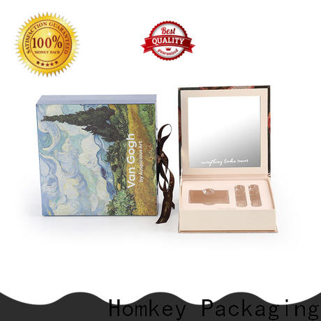 Homkey Packaging cosmetics cosmetic packaging boxes wholesale factory for maquillage