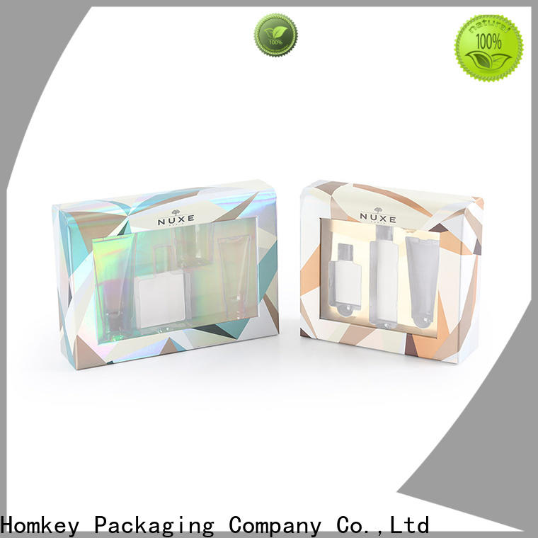 Homkey Packaging luxury cosmetic packaging boxes wholesale owner for beauty items