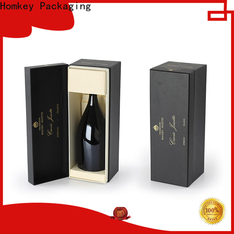 hot-sale wine packaging box owner for gift packing