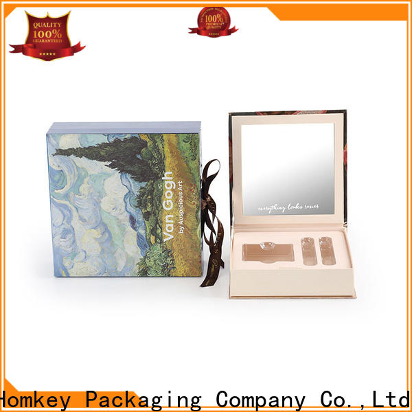 best makeup packaging boxes gift factory for cosmetics