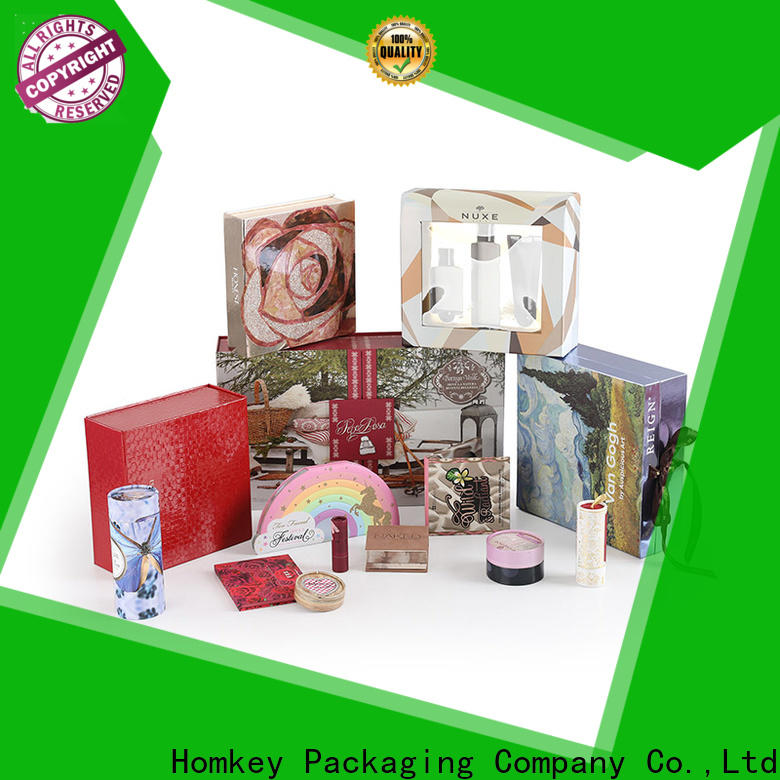Homkey Packaging beauty skincare packaging boxes supplier for maquillage